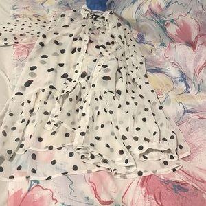 Size xxl see through blouse